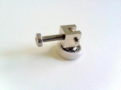 Rodamiento con soporte metálico Profiltek (2 unidades)