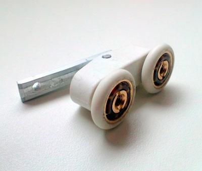 Rodamiento doble articulado Aludux y Conver Sol (2 unidades)