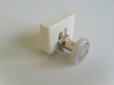 Rodamiento con soporte profiltek 2 unid repuestos for Rodamientos para mamparas