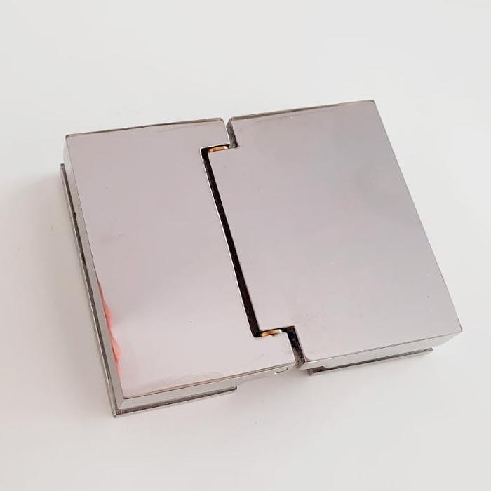 Bisagra para mampara de puertas abatibles Glassinox