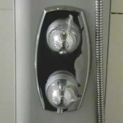 Grifo hidromasaje para cartucho termostático ref 0278