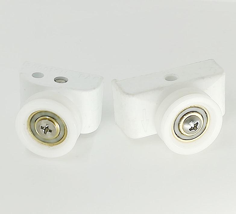 Rodamiento para mampara semicircular con soporte ref 1853-2
