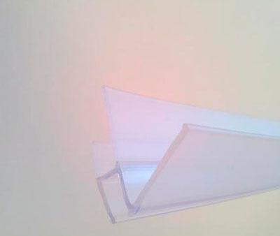Junta de estanqueidad para cristal de 6 mm.