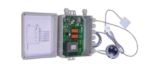 Kit completo doble sistema con sensor de nivel.