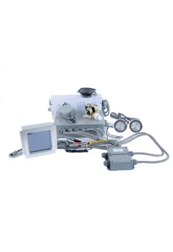 Kit electrónico completo cabina táctil con electroválvulas.