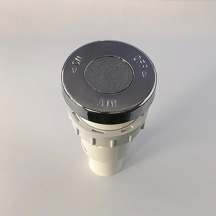 Pulsador neumatico aireador