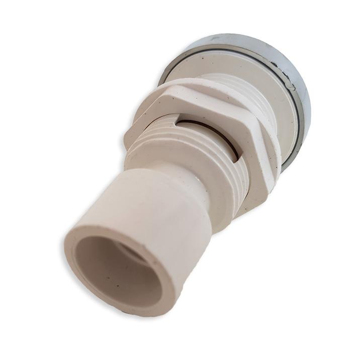 recambio hidromasaje regulador aire cromado