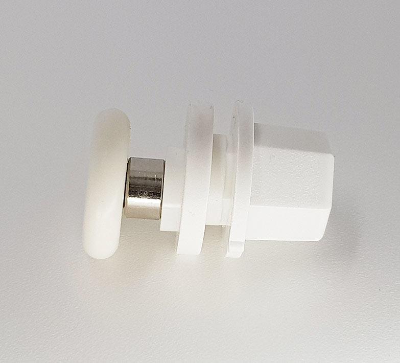 Rodamientos mamparas 24x6 Blanco ref 136_4