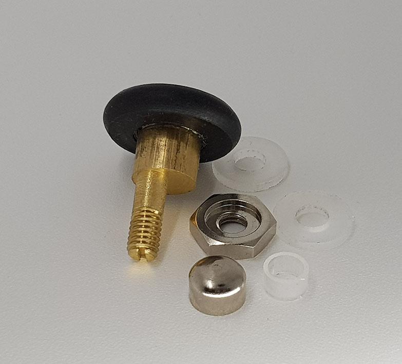 Rodamiento para mampara metalico 26x6 Cromo ref 137_4