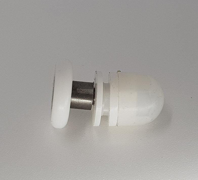 Rodamientos mampara de nylon excentrico ref 138