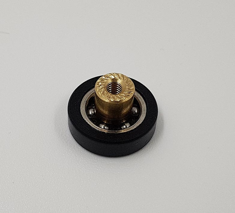 Rodamiento mampara con espárrago 21x6 Ref 1007