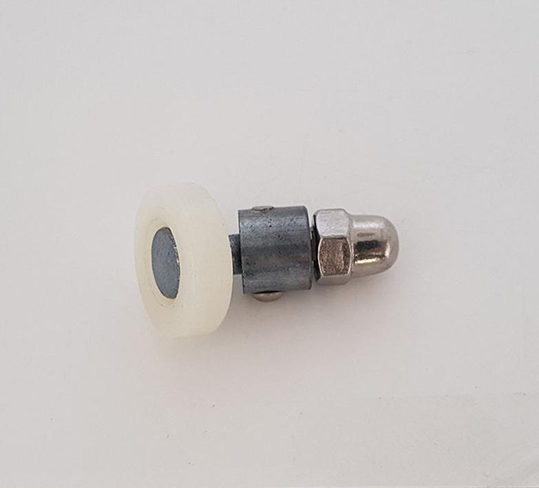 Rodamiento mamparas con espárrago articulado 21x6 ref 131
