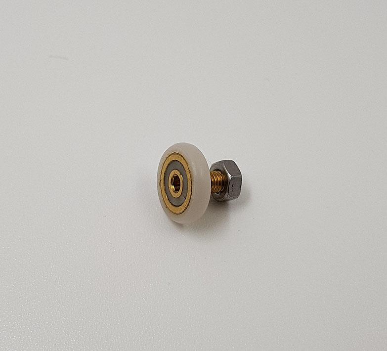Rodamiento mamparas con espárrago de 14x3 ref 134