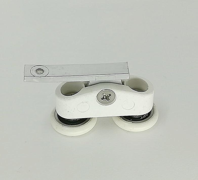 Rodamiento mampara doble articulado Aludux y Conver Sol ref 174_2
