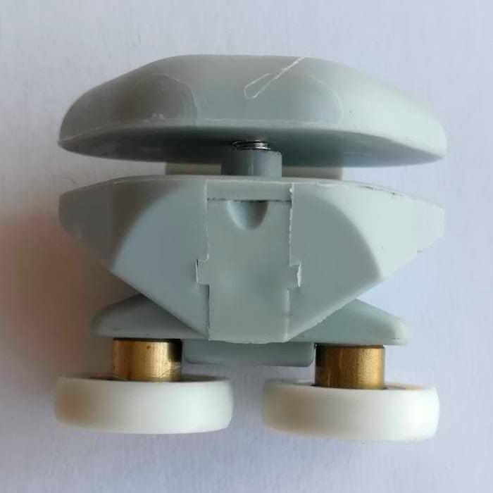 Rodamiento doble exclusivo para mamparas ref1766