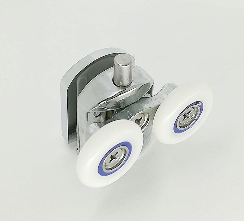 Rodamiento mamparas doble desenganche fácil 25X6 ref 170