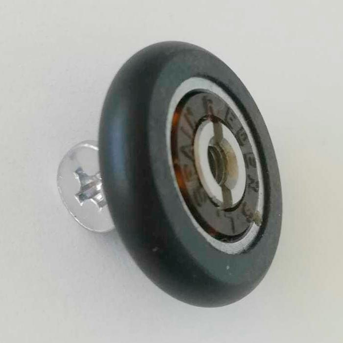 Rodamiento standard con espárrago para mamparas 1015-2