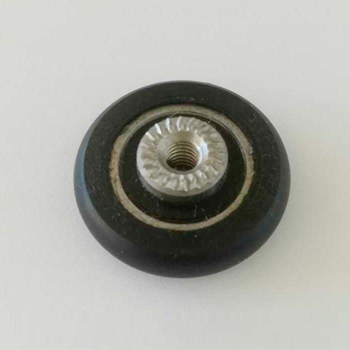Rodamiento standard con espárrago para mamparas 1015-1
