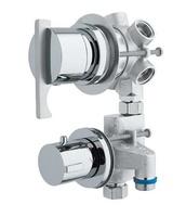 Grifo hidromasaje termostático con desviador de 5 vías ( 2 griferías individuales)