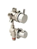 Grifo hidromasaje termostático con desviador de 5 vías ( 2 griferías individuales )
