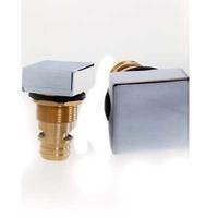 Regulador de aire cuadrado en latón cromado