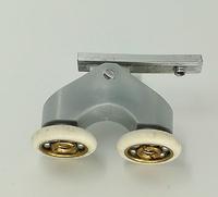 Rodamiento doble con soporte articulado 20x5
