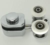Soporte Cromado con rodamientos de 25x7